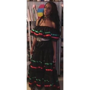 Traditional Mexican Style Dress